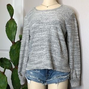 Aerie soft crew neck cozy sweater Sz. L